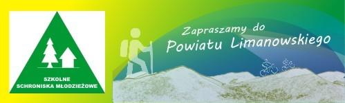 Banner- zapraszamy do Powiatu Limanowskiego