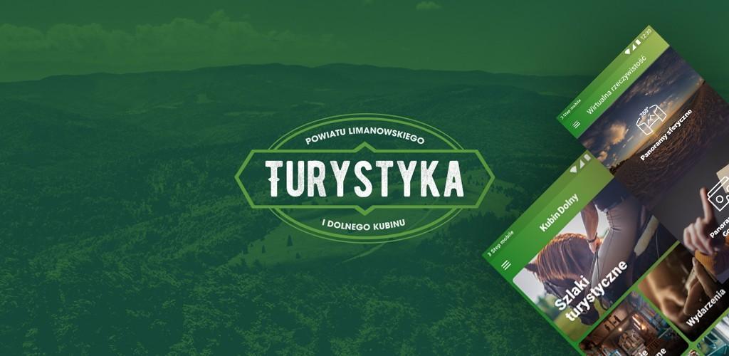 Plakat z napisem Turystyka