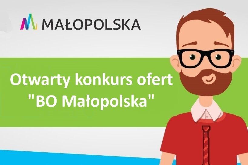 "plakat ""BO Małopolska"""