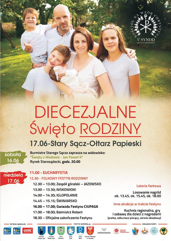 Plakat Diecezjalnego Święta Rodziny