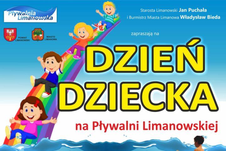 plakat powiatowego dnia dziecka