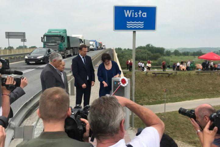 Nadanie mostowi na Wiśle imienia Marszałka Marka Nawary