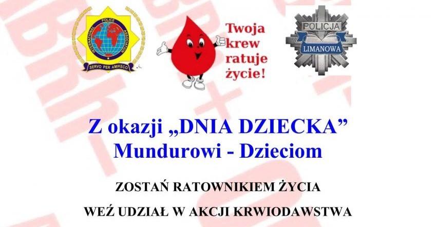 Baner zbiórka krwi