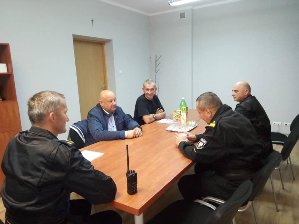 Odprawa sytuacyjna w KP PSP w Limanowej