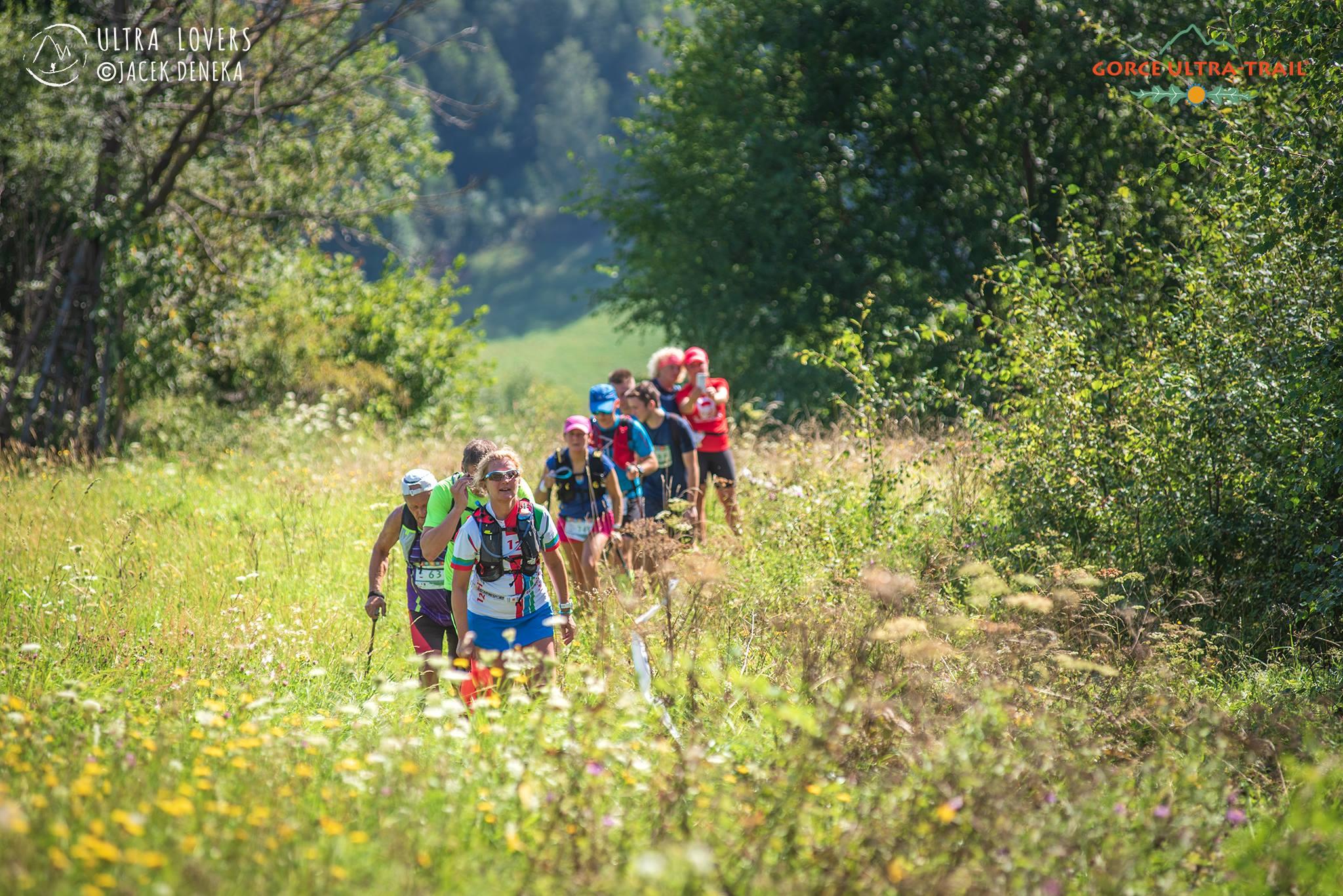 Bieg przez góry Ultra Trail gorce