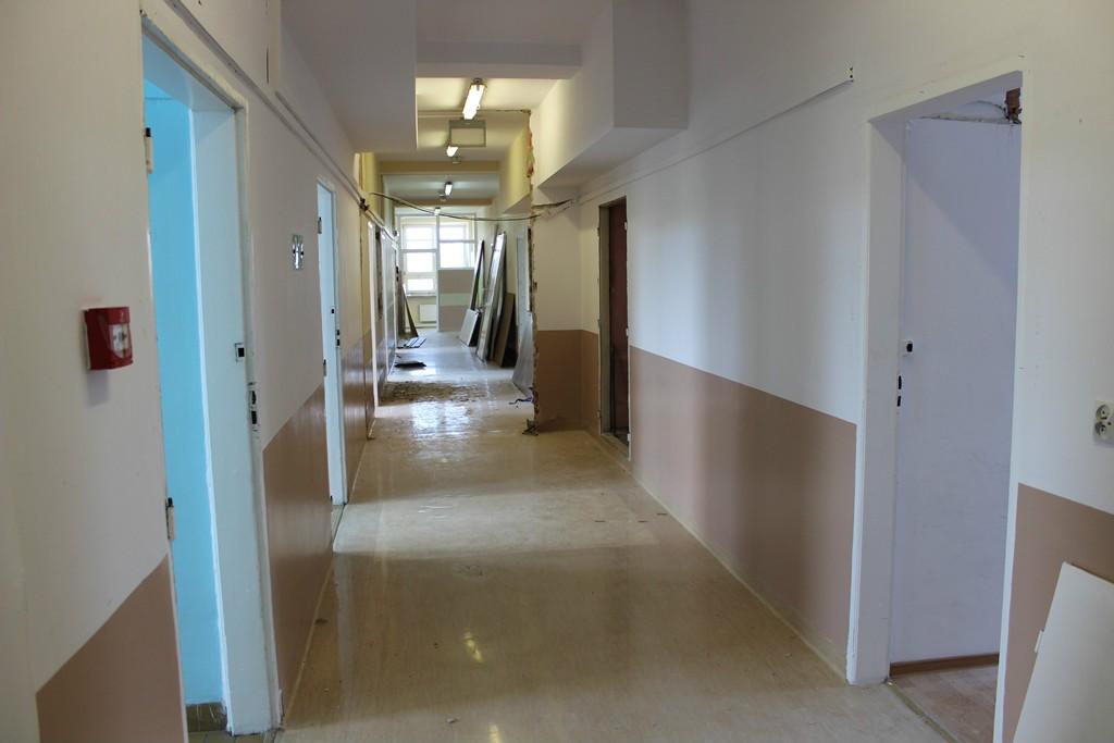 Zdjęcia pomieszczeń, które zostaną przebudowane na Oddział Anestezjologii i Intensywnej Terapii