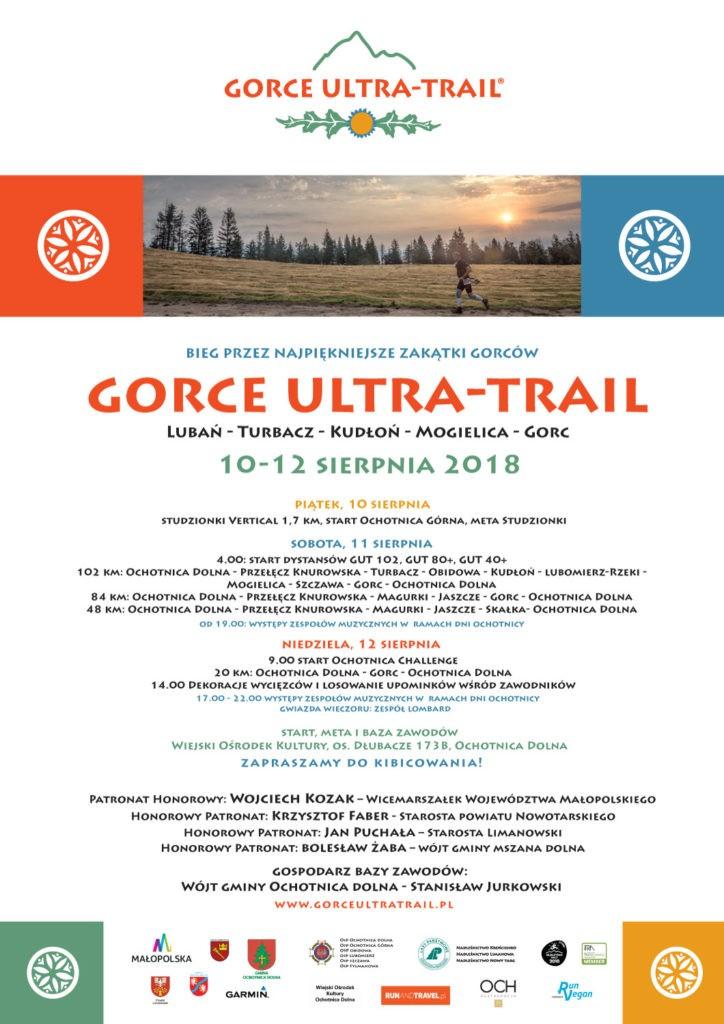 Gorce Ultra Trail plakat
