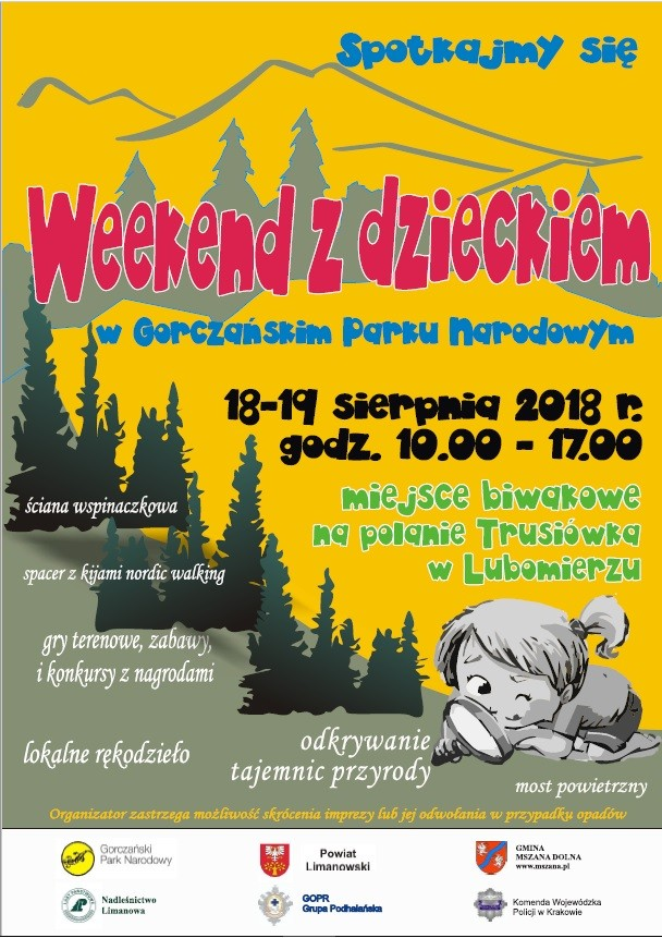 Weekend z GPN - plakat