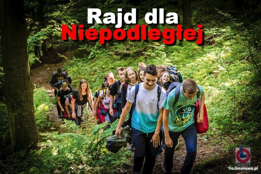 XXIV Rajdu im. Józefa Staniszewskiego 2018 - baner wyścigu