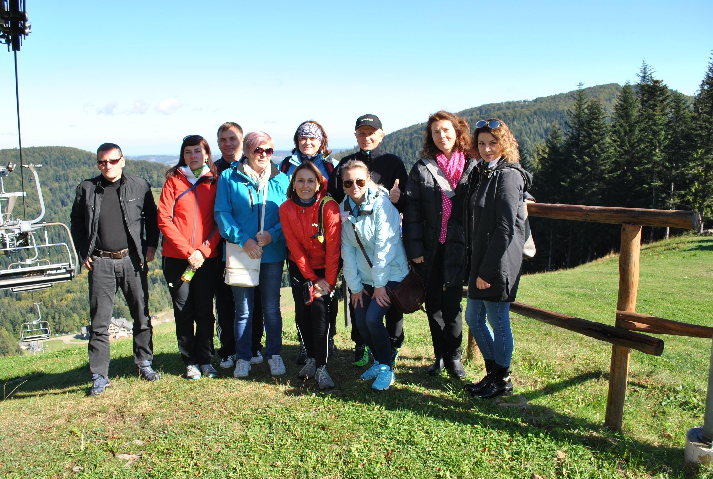 na terenie Powiatu Limanowskiego przebywała dziesięcioosobowa grupa ze Słowacji - przedstawicieli sektora samorządowego i turystycznego.
