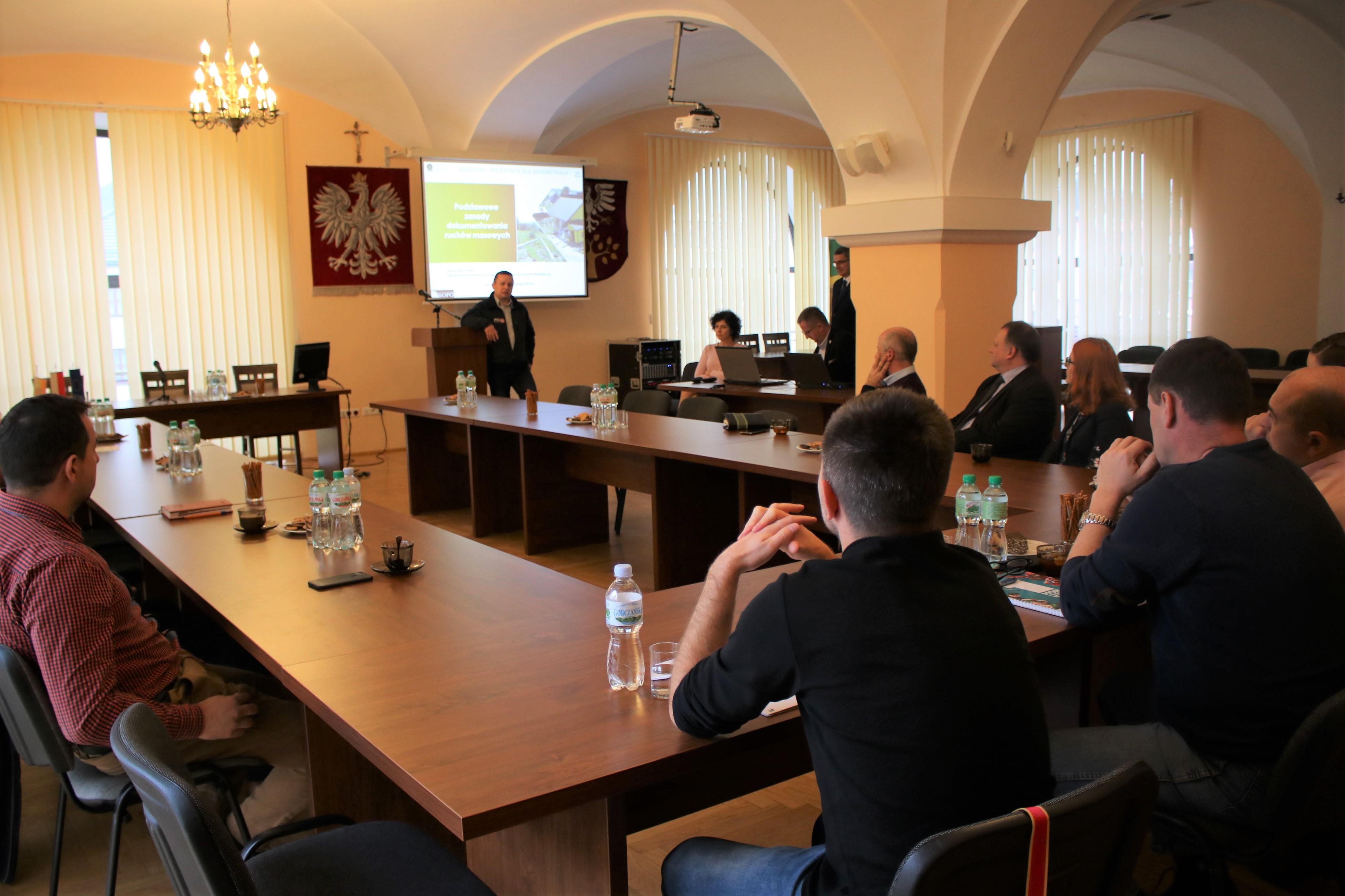 szkolenie w starostwie powiatowym
