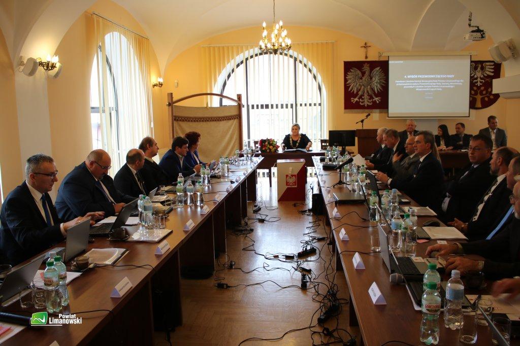 I Sesja Rady Powiatu Limanowskiego VI kadencji