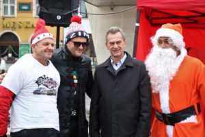 Starosta z Kordianem i świętym Mikołajem