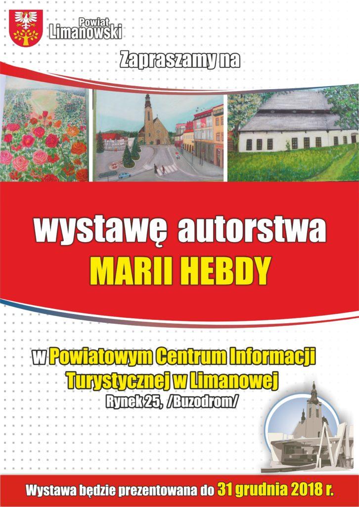 Wystawa Marii Hebdy