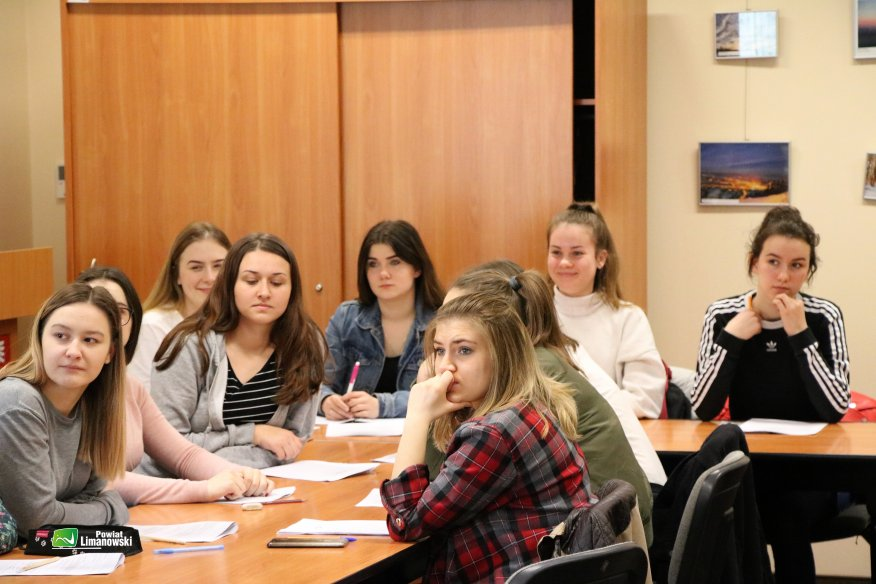 Spotkanie z młodzieżą z biznesplanu