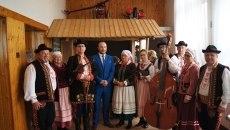 Spotkanie seniorów z Polski i Slowacji w gminie Łukowica