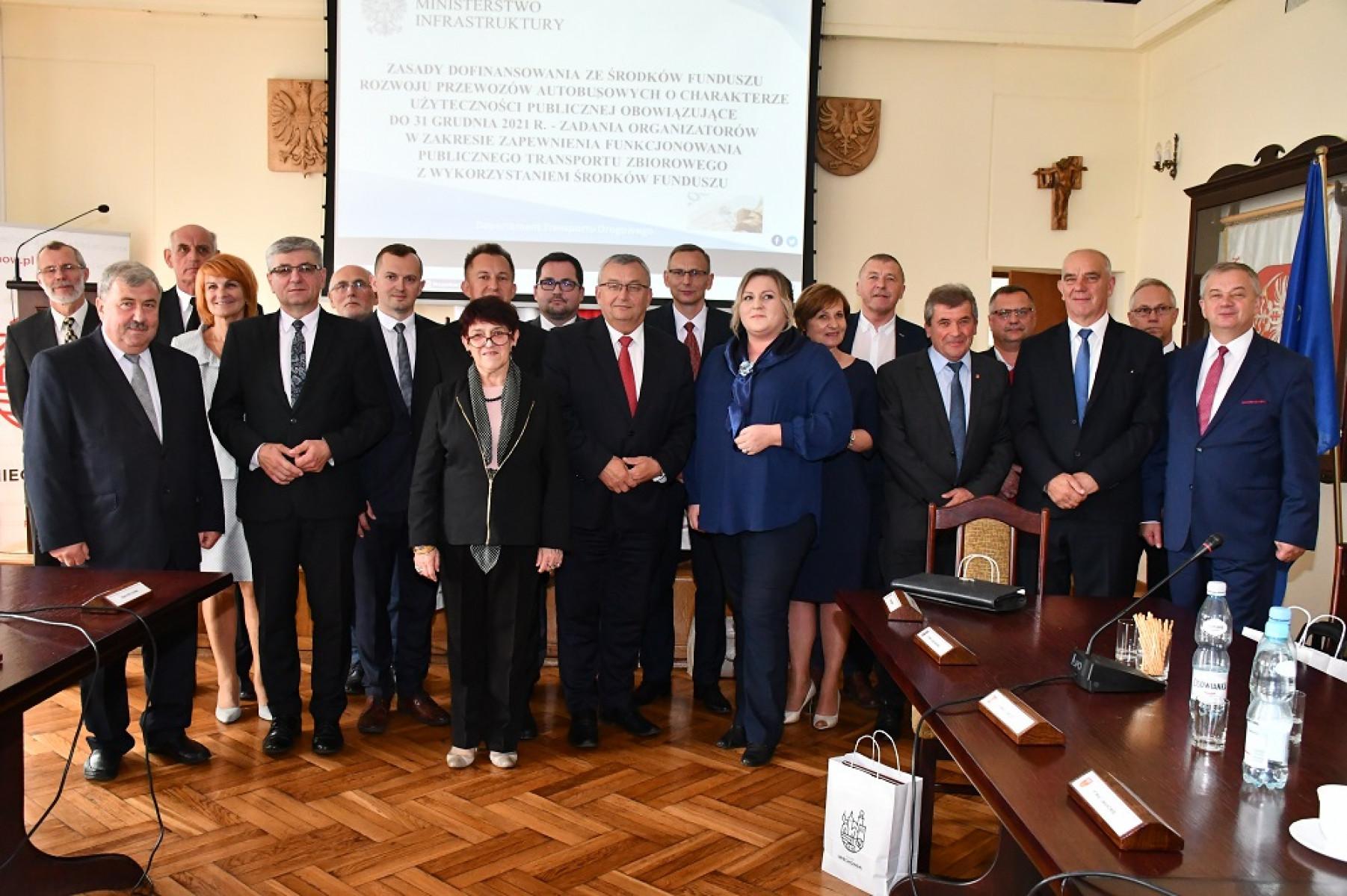 Konwent Przewodniczących rad powiatów z ministrem adamczykiem