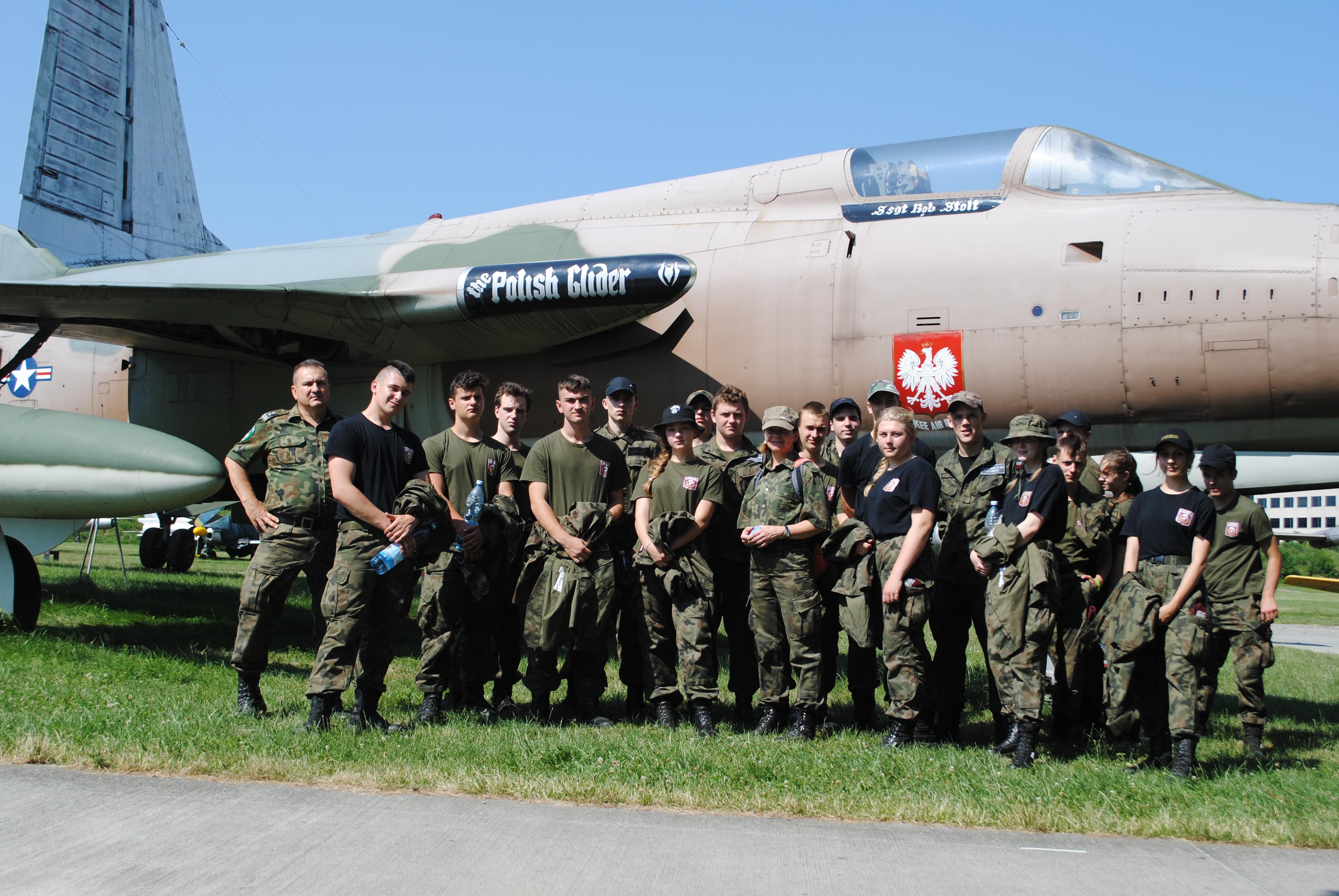 Obóz wypoczynkowo-szkoleniowy klas wojskowych ZS w Tymbarku