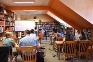Szkolenie bibliotekarzy MBP Limanowa 2019