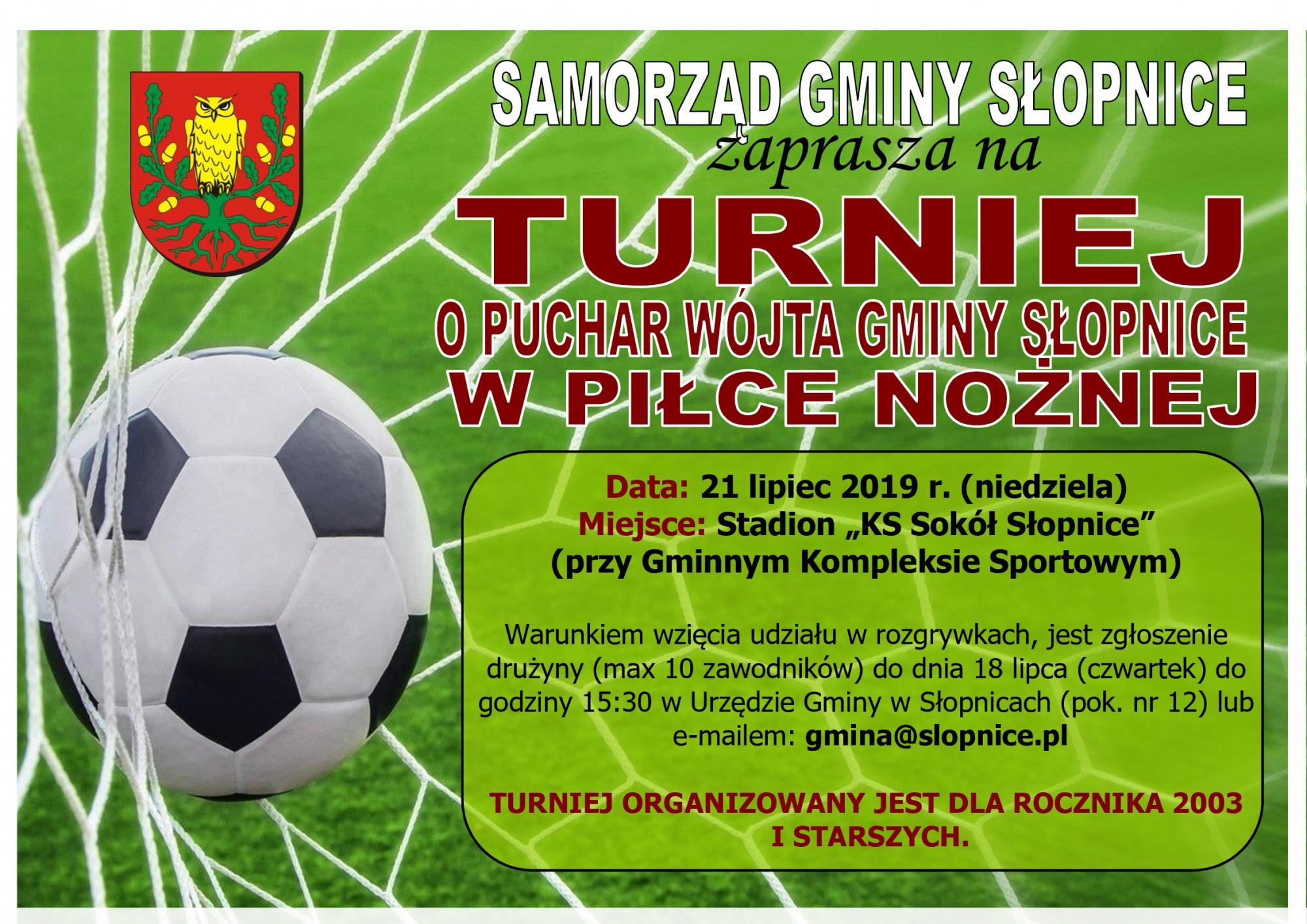 Turniej piłkarski Słopnice