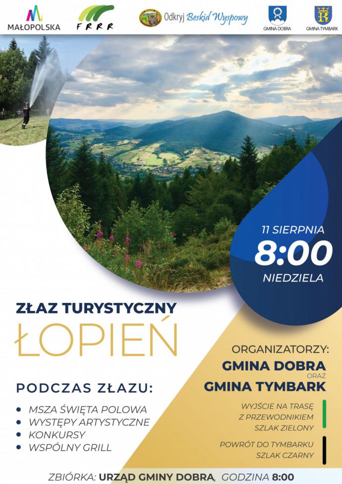 """""""Odkryj beskid Wyspowy"""" 2019 - Łopień"""