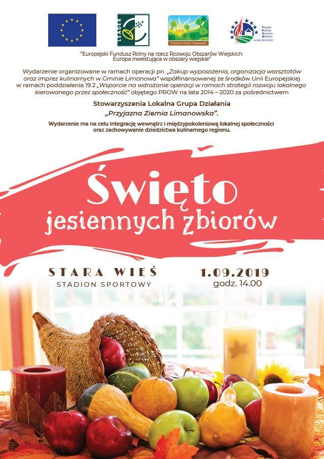 """""""Święto jesiennych zbiorów"""" Stara Wieś 2019"""