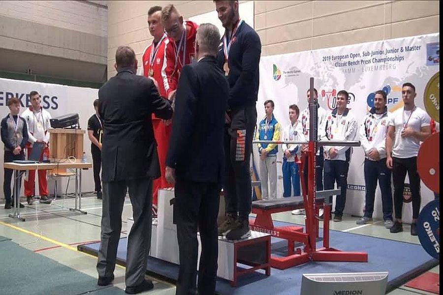 Michal Kowalczyk na mistrzostwach Europy - Luksemburg 2019
