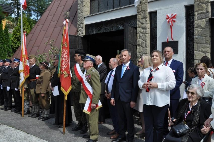 Uroczystości patriotyczne w Glisnem