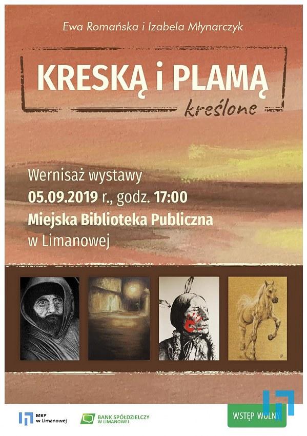 Wernisaż wystawy w MBP w Limanowej