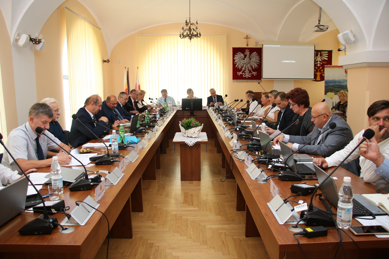 VII Sesja Rady Powiatu Limanowskiego 30.08.2019