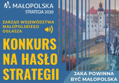 """konkurs """"Małopolska 2030"""""""