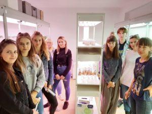 Uczniowie ZSTiO w Limanowej podczas wizyty na Uniwersytecie Rolniczym w Krakowie