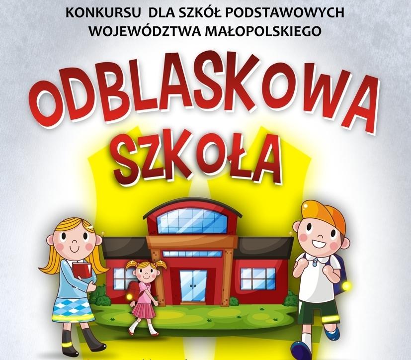 """""""Odblaskowa szkoła"""" w powiecie limanowskim, Słopnice 2019"""