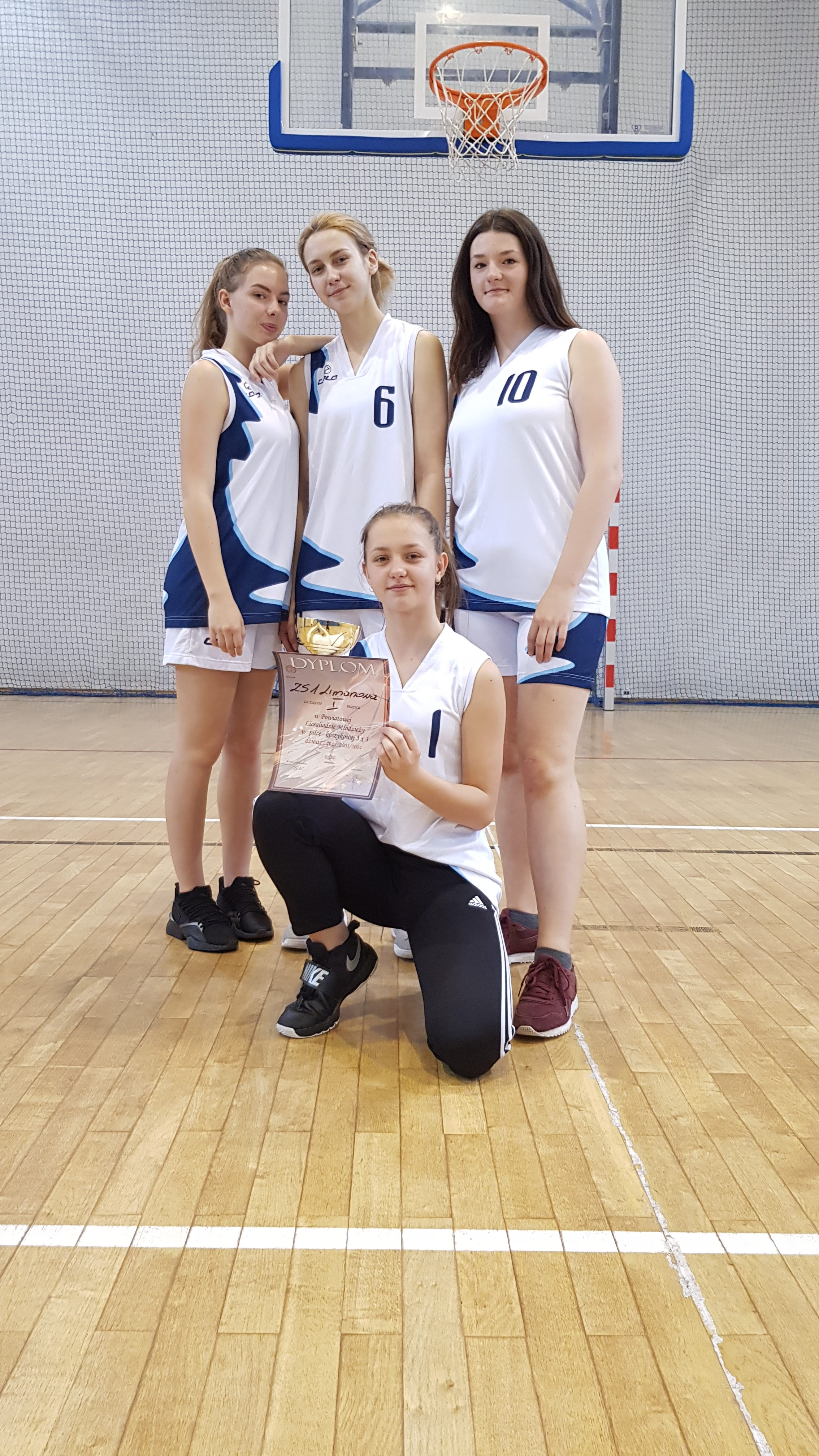Powiatowa Licealiada Dziewcząt oraz Chlopcow w koszykówce14.11.2019