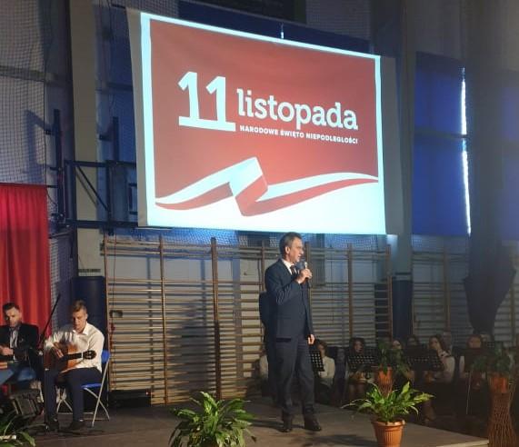 Świeto Niepodległości w ZS nr 1 w Limanowej