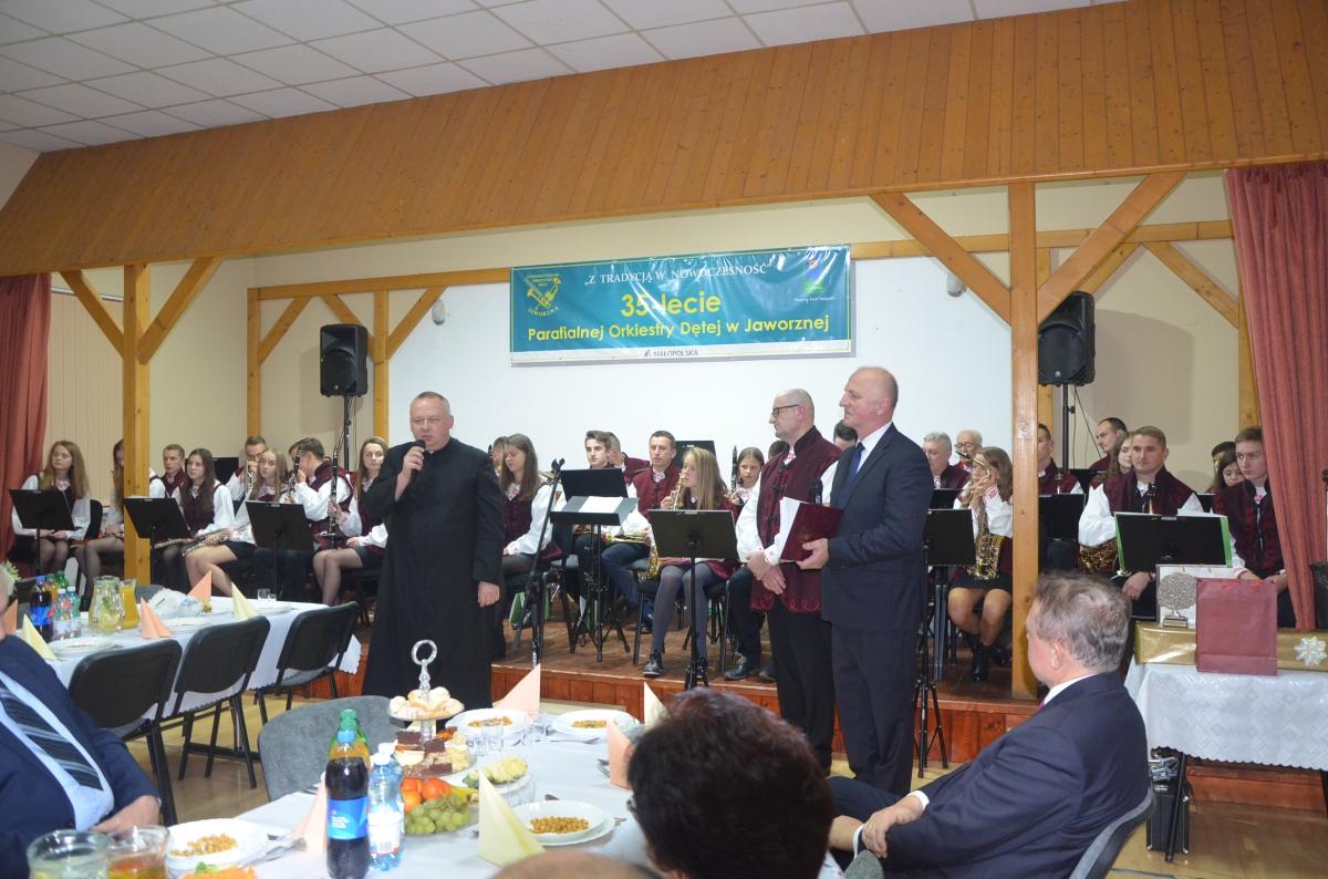 35 - lecie orkiestry dętej w Jaworznej, listopad 2019