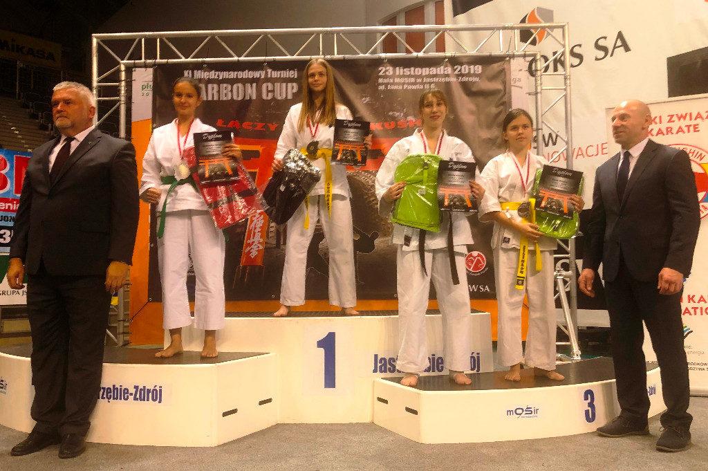 """XI Międzynarodowy Turniej Karate Kyokushin """"Carbon Cup"""" w Jastrzębiu- Zdroju"""