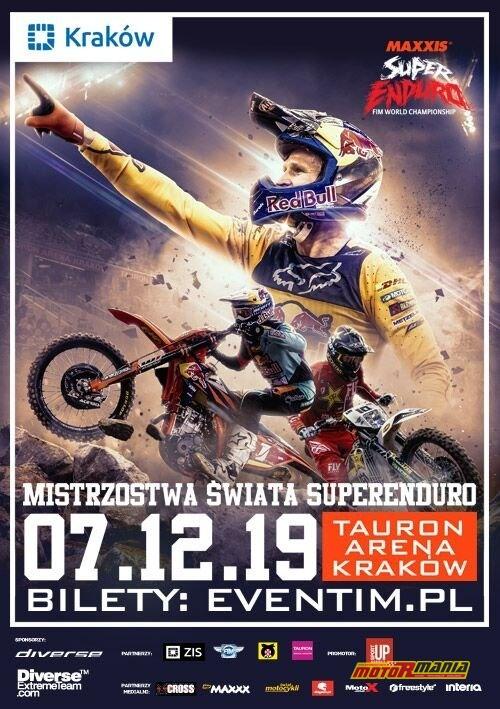 Mistrzostwa-Swiata-SuperEnduro 2019 - plakat informacyjny 2