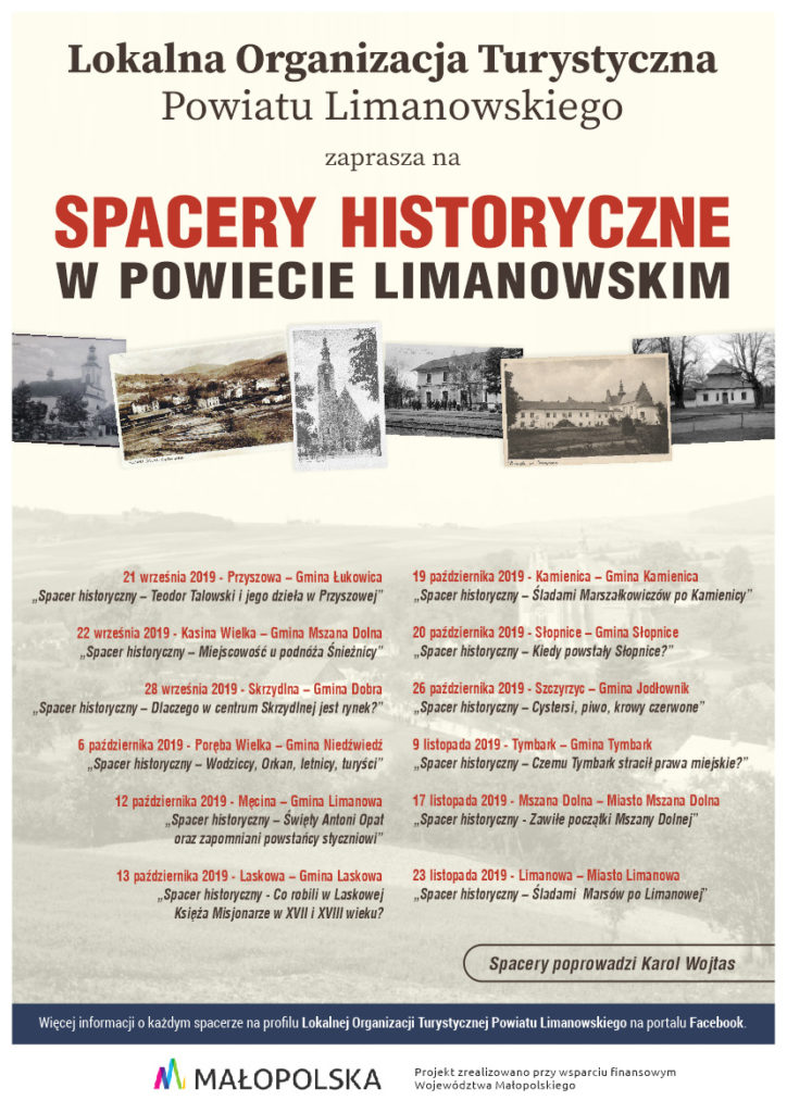 Spacer historyczny - Tymbark