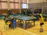 Powiatowe Igrzyska Dzieci w Tenisie Stołowym Indywidualnym Dziewcząt i Chlopców - zawodnicy podczas rozgrywek