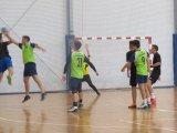 Powiatowa Licealiada Młodzieży w piłce Ręcznej Chłopców - zawodnicy podczas turnieju