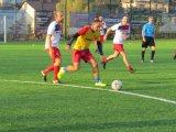 Turniej Piłki Nożnej Zakładów Pracy , Firm oraz Instytucji o Puchar Starosty Limanowskiego - zawodnicy podczas meczu