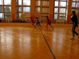 Powiatowe Igrzyska Młodziezy Szkolnej w Unihokeju Dziewcząt i Chłopców - zawodnicy podczas meczu
