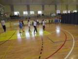 Powiatowe Igrzyska Dzieci w Koszykówce 3x3 Dziewczat i Chłopców - zawodniczki w trakcie meczu