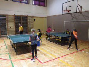Powiatowych Igrzyska Modzieży Szkolnej w Tenisie Stołowym