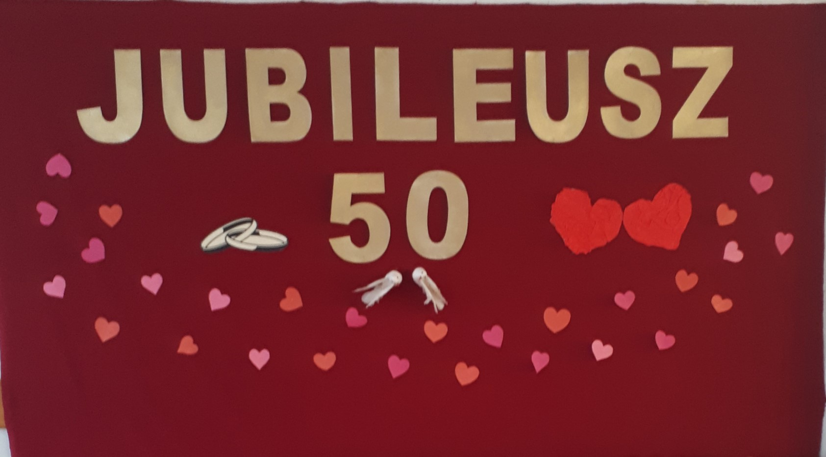 Spotkanie dla par obchodzacych jubileusz 50-lecia zawarcia zwiazków małżeńskich w gminie Niedźwiedź