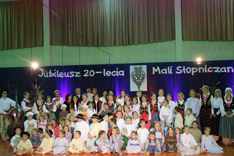 """Jubileusz zespołu """"Mali Slopniczanie """""""