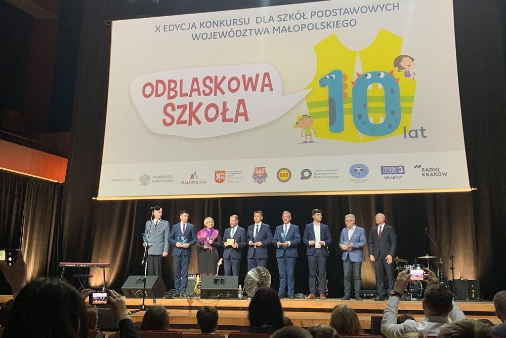 """Gala konkursu """"odblaskowa szkoła 2019"""