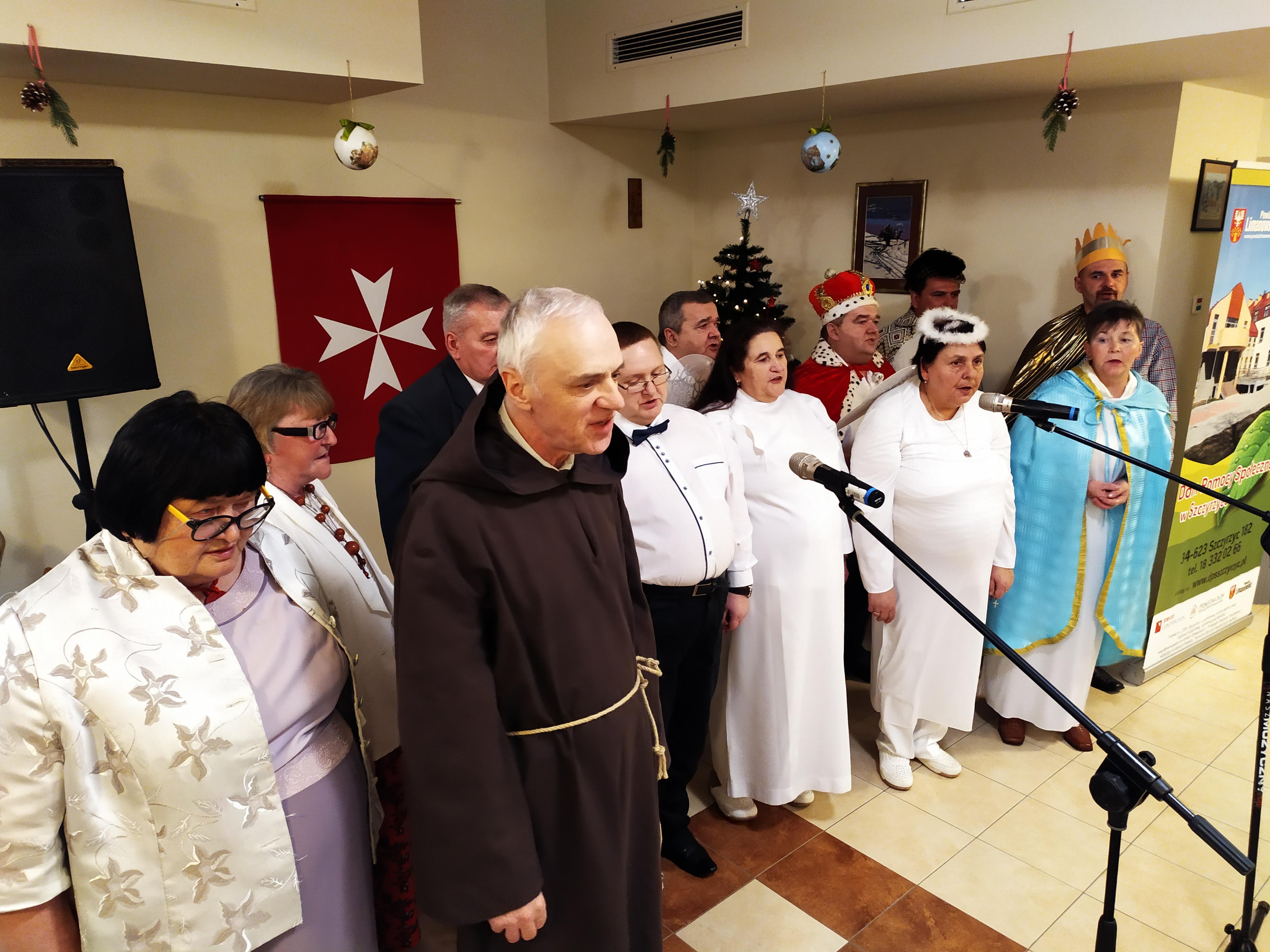 Jubileuszowy Opłatek Maltański w DPS Szczyrzyc - grudzień 2019