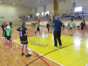 Powiatowe zawody w koszykówce dziwczat styczeń 2020